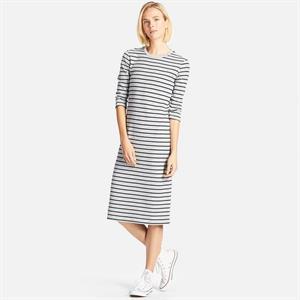 Váy kẻ nữ  Uniqlo xinh xắn -  WD51