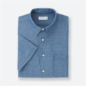 Áo sơ mi nam Uniqlo - Dry Easy Care Shirt - MS38