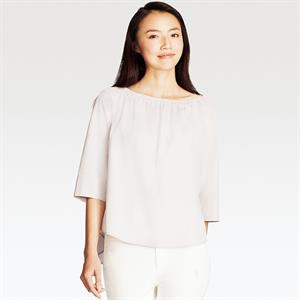 Áo Uniqlo nữ - cotton siêu mịn WS115