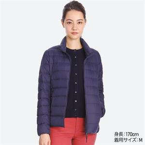 Áo siêu nhẹ nữ  kẻ  Uniqlo - SG21