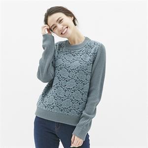 Áo len nữ Gu - Uniqlo - WL135