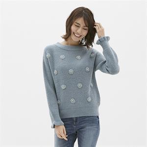 Áo len nữ Gu - Uniqlo - WL148