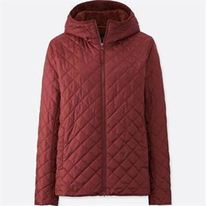 Áo khoác nữ  trần trám, lót lông cừu Uniqlo Nhật - WJ07