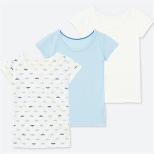 Set 3 áo cộc tay  trẻ em Uniqlo BU07