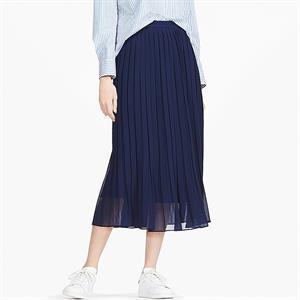 Chân váy voan xếp ly Uniqlo  xinh xắn  - WD179
