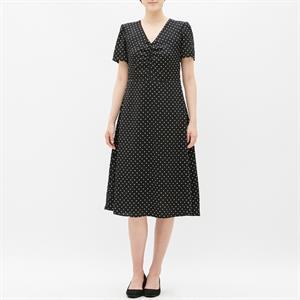 Váy chấm bi GU - Uniqlo xinh xắn - WD203