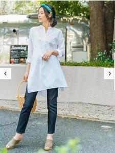 Áo nữ dáng dài  Uniqlo xinh xắn - WD156