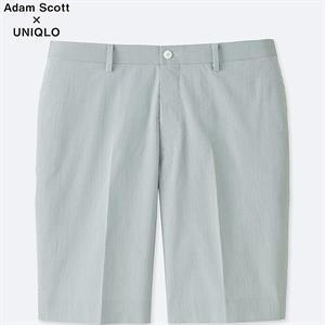 Quần sóc kẻ nam Adam Scott Uniqlo QS13