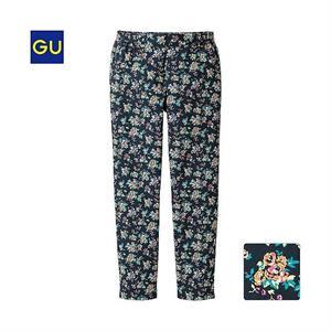 Quần nữ hoa GU - WP54