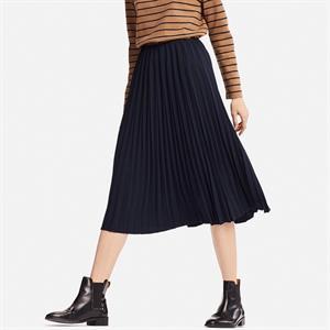 Chân váy xếp ly Uniqlo - WD163