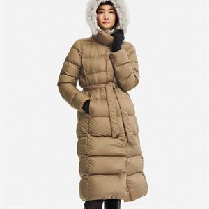 Áo lông vũ nhẹ dáng dài Uniqlo - mặc trong thời tiết đại hàn - SG01