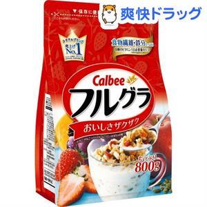 Ngũ cốc sấy khô Calbee Nhật Bản 800g - vị truyền thống