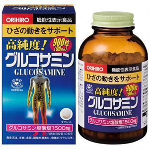 Glucosamine 1500mg Orihiro Japan hộp 900 viên - Thuốc bổ xương khớp Nhật Bản - XK01