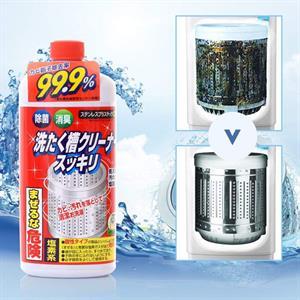 Tẩy lồng máy giặt Rocket Nhật Bản-  sạch đến 99.9%