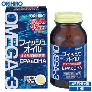 Omega 3 Orihiro Nhật Bản - bổ mắt và đẹp da, tăng cuongf trí nhớ.