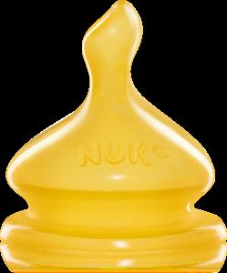 Ty thay cao su bình sữa cổ rộng Nuk