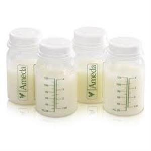 Bình trữ sữa Ameda 120ml (4 bình)