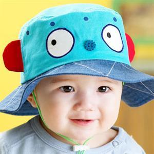 Mũ rộng vành cho bé MRV004