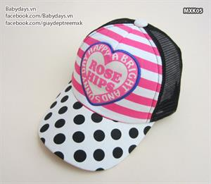 Mũ thời trang trẻ em MXK05