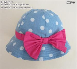 Mũ thời trang trẻ em MXK07
