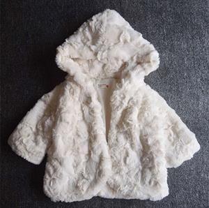 Áo khoác lông Prenatal xuất Ý 9m-36m