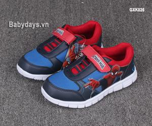 Giày trẻ em xuất khẩu SpiderMan GXK026