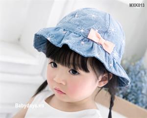 Mũ nón rộng vành cho bé MXK013