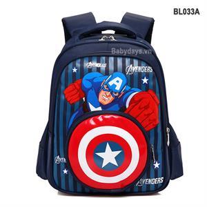 Balo siêu nhân anh hùng captain america BL033A