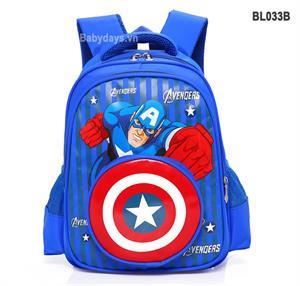 Balo siêu nhân anh hùng captain america BL033B
