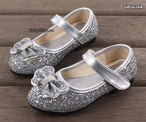 Giày búp bê óng ánh cho bé GBG026A