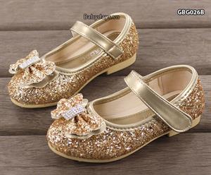Giày búp bê óng ánh cho bé GBG026B