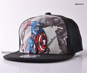 Mũ nón hiphop siêu nhân cho bé MHH03