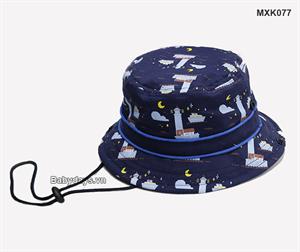 Mũ nón rộng vành cho bé MXK077