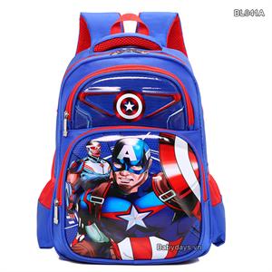 Balo siêu nhân Captain america cho bé BL041A