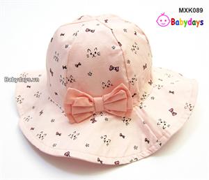 Mũ rộng vành cho bé MXK089