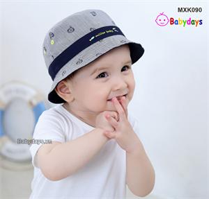 Mũ nón vành nhỏ cho bé MXK090
