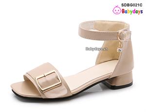 Dép sandal cao gót cho bé SDBG021C