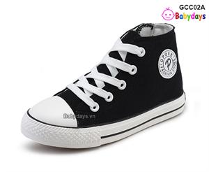 Giày cao cổ converse cho bé GCC02A
