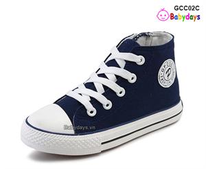 Giày cao cổ converse cho bé GCC02C