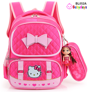 Balo học sinh tiểu học mèo Hello Kitty BL052A