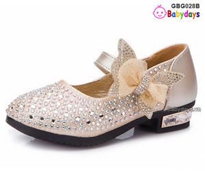 Giày búp bê óng ánh GBG028B