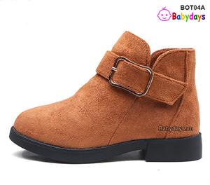 Giày boots cho bé BOT04A