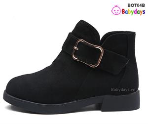 Giày boots cho bé BOT04B