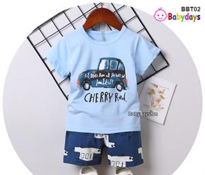 Bộ quần áo mùa hè cho bé BBT02
