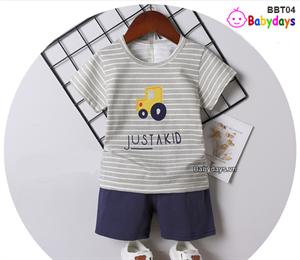Bộ quần áo mùa hè cho bé BBT04