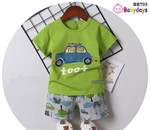 Bộ quần áo mùa hè cho bé BBT05