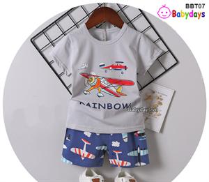 Bộ quần áo mùa hè cho bé BBT07