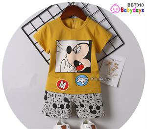 Bộ quần áo mùa hè cho bé BBT010