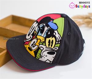 Mũ nón lưỡi trai hiphop cho bé MHH015