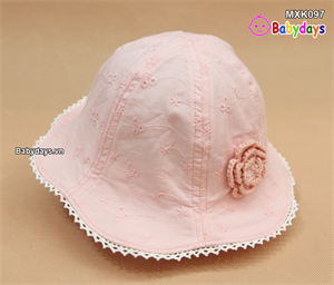 Mũ nón rộng vành thời trang cho bé MXK097